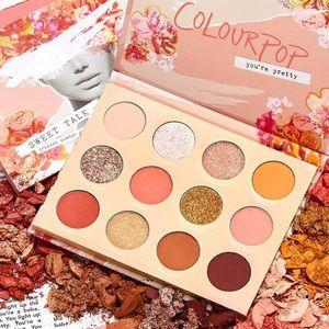 2/$20 Colourpop Sweet Talk Eyeshadow Palette New